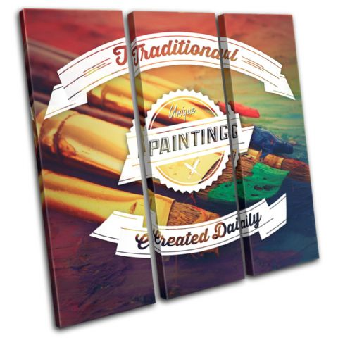 Painting Typography Hobbies - 13-6044(00B)-TR11-LO